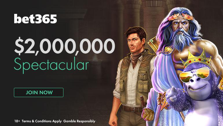 Laimėkite didelius prizus žaisdami bet365 $2 Million Spectacular šią gegužę