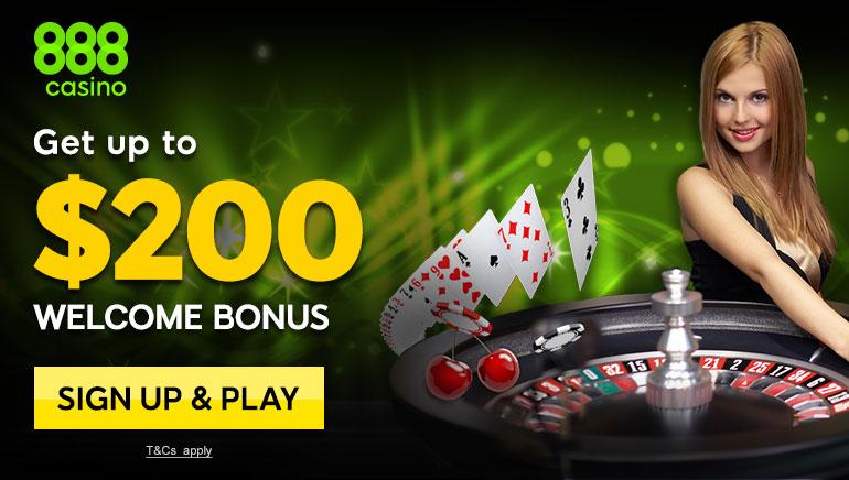 Žaidėjams patiks 888 Casino nuostabūs kazino žaidimai ir pasveikinimo bonusas