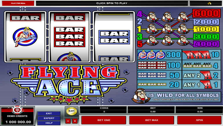 Flying aces casino inkster