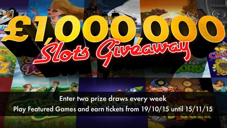 Laimėkite didžiules sumas dalyvaudami bet365 kazino 1,000,000 £/1,500,000 $ vertės dovanų dalybose