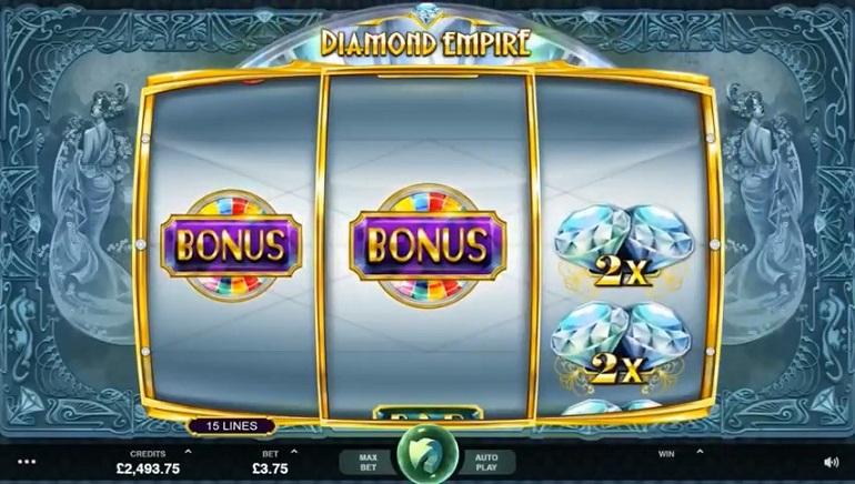 Balandį pasirodys 2 nauji Microgaming lošimų automatai: Dream Date ir Diamond Empire