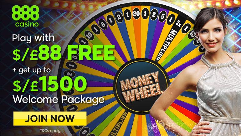 Sukite 888 Dream Catcher pinigų ratą