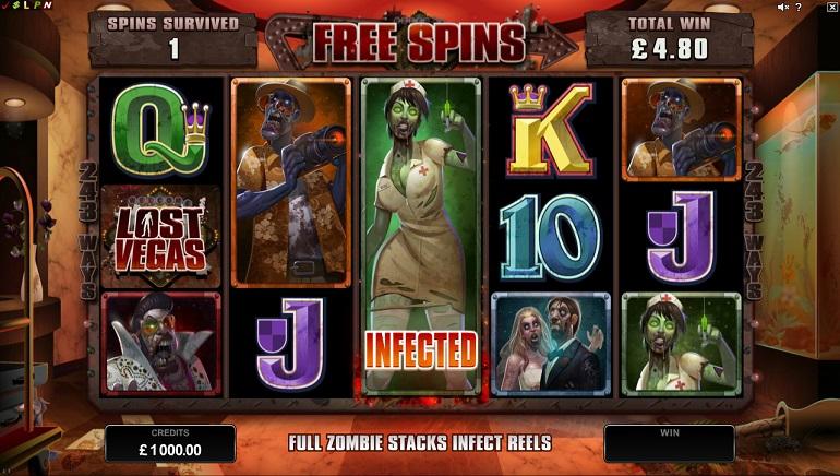 Lost Vegas: išleistas naujas zombių tematikos Microgaming lošimų automatas