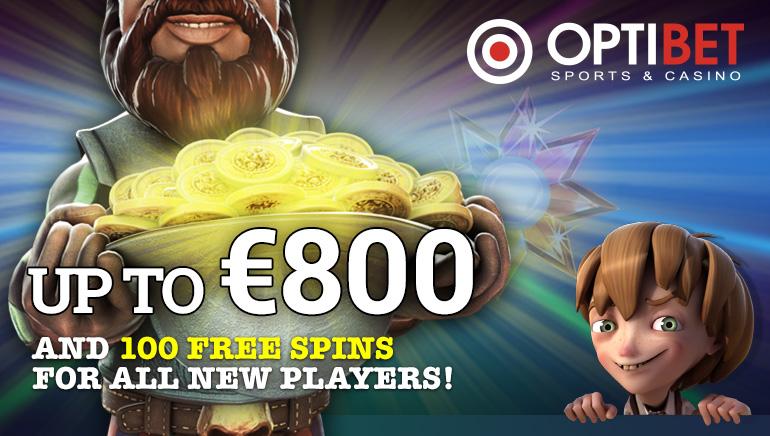 Optibet kazino turi pasiūlymų visiems