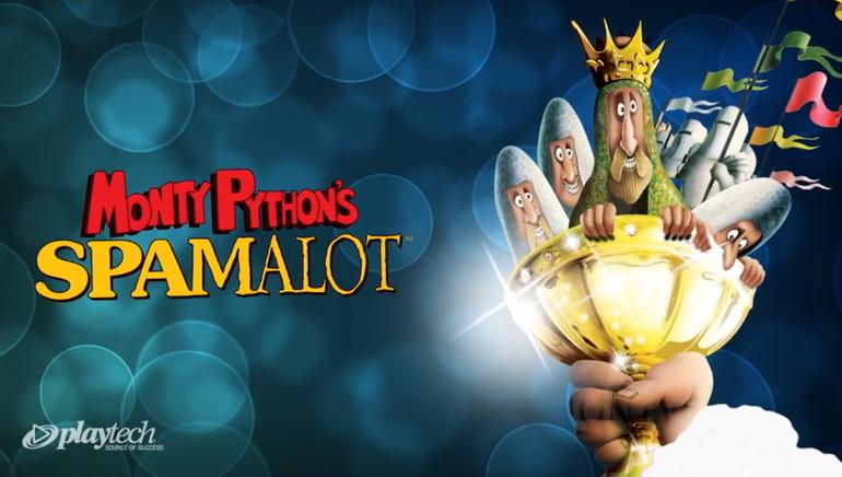 Monty Python's Spamalot aukso puodas Europa Casino išaugo iki 2.5 milijono JAV dolerių